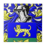 Alleman Coat of Arms Tile