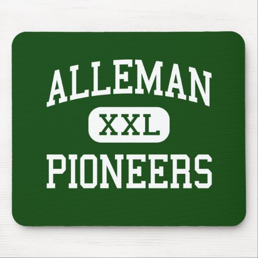 Alleman - Pioneers - High - Rock Island Illinois Mouse Pad