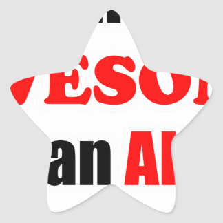 Allen Awesome Family Star Sticker