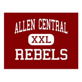 Allen Central - Rebels - Middle - Eastern Kentucky Postcard