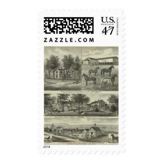 Allen County, Kansas 2 Postage