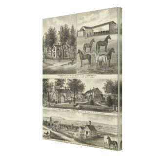 Allen County, Kansas Canvas Prints