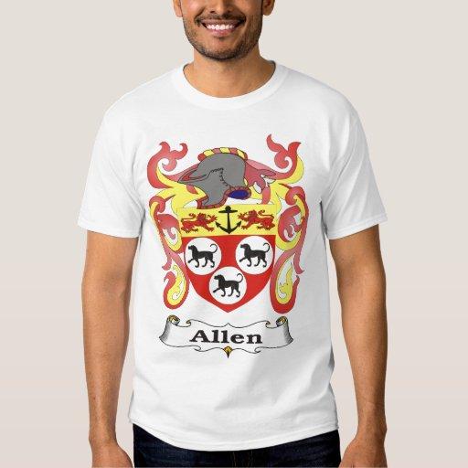 Allen Family Coat of Arms T-shirt