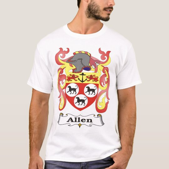 Allen Family Coat of Arms T-shirt