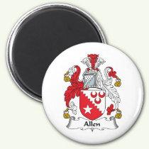 Allen Family Crest Magnet