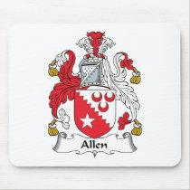 Allen Family Crest Mousepad