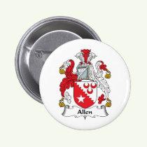 Allen Family Crest Button