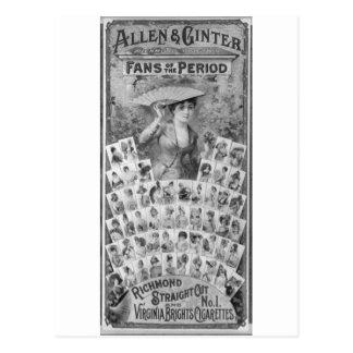 Allen & Ginter 1885 Postcard