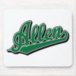 Allen in Green Mouse Mats