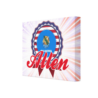 Allen, OK Gallery Wrapped Canvas