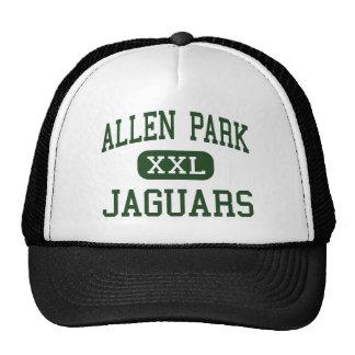 Allen Park - Jaguars - High - Allen Park Michigan Trucker Hat