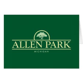 Allen Park Oak Card