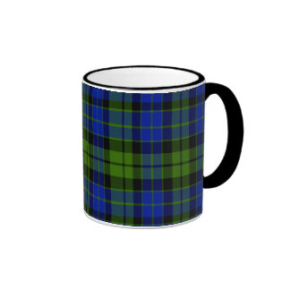 Allen Scottish Tartan Ringer Coffee Mug