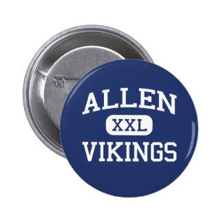 Allen Vikings Middle Greensboro Pinback Button