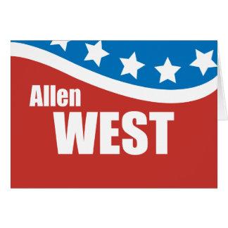 Allen West 2010 Card