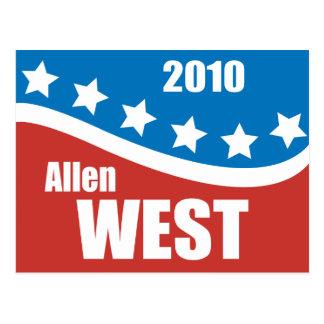 Allen West 2010 Post Cards