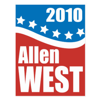 Allen West 2010 Postcard