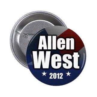 Allen West 2012 Pinback Button
