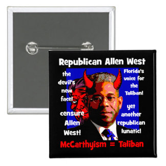 Allen West Pinback Buttons
