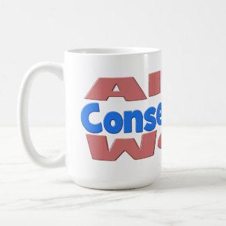 Allen West Conservative Mug - pink