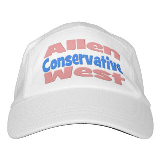 Allen West Conservative Performance Hat, Pink Headsweats Hat