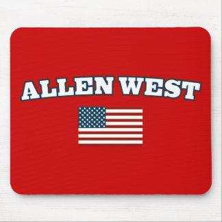 Allen West for America Mouse Pad