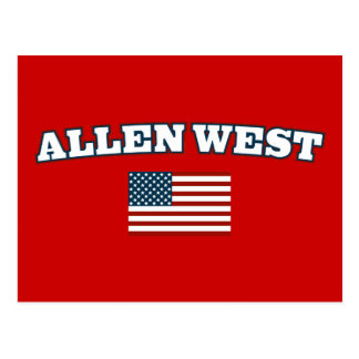 Allen West for America Postcard