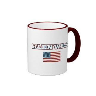 Allen West for America Ringer Mug