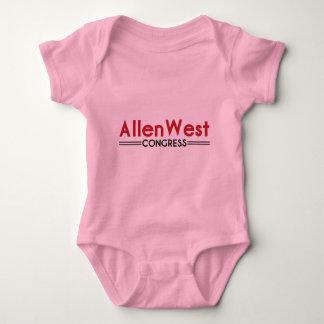 Allen West for Congress Baby Bodysuit