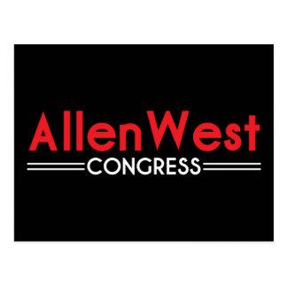 Allen West for Congress Postcard