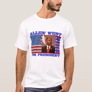Allen west for president 2012 Allen & Dobson T-Shirt