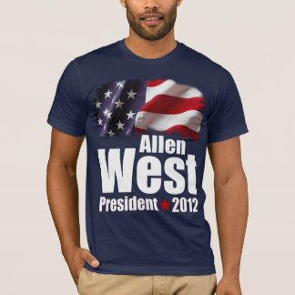 Allen West for President 2012 T-Shirt