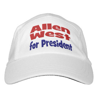 Allen West for President Performance Hat