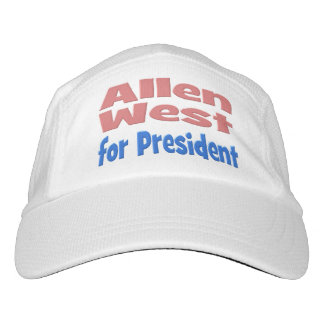 Allen West for President Performance Hat, pink Hat