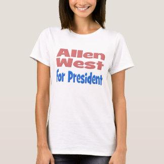 Allen West for President Shirt, pink T-Shirt