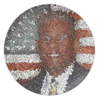Allen West Pop Art Dinner Plate