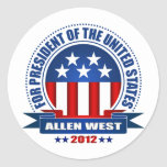Allen West Stickers