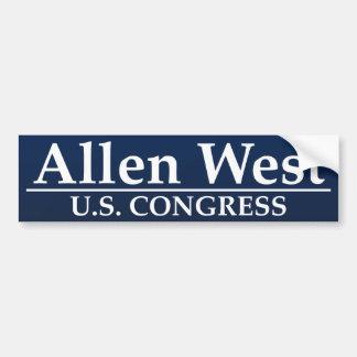Allen West U.S. Congress Bumper Sticker