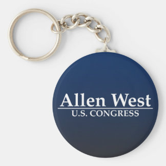 Allen West U.S. Congress Keychain