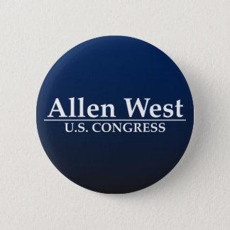 Allen West U.S. Congress Pinback Button