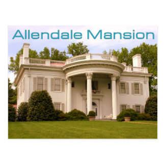 Allendale Mansion - Kingsport, TN Postcard