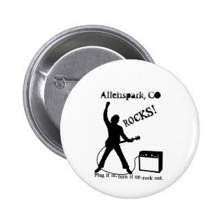 Allenspark, CO Pin Redondo 5 Cm