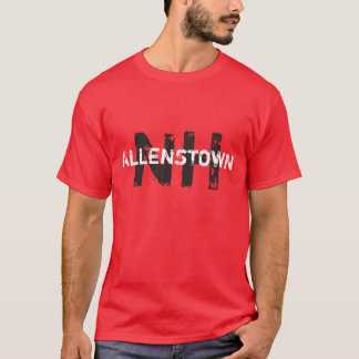Allenstown, New Hampshire #AllenstownNH #NH NH T-Shirt