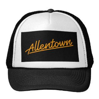 Allentown en naranja gorras de camionero