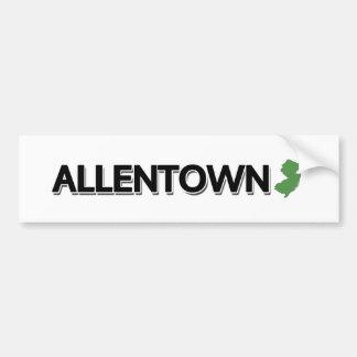 Allentown, New Jersey Bumper Sticker