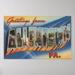Allentown, Pennsylvania - escenas grandes de la le Póster