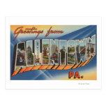 Allentown, Pennsylvania - Large Letter Scenes Postcard