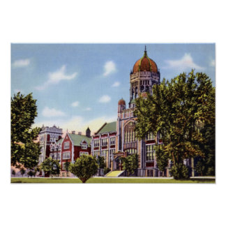 Allentown Pennsylvania Muhlenberg College Poster