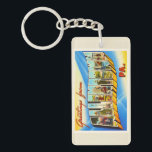 "Allentown Pennsylvania PA Vintage Travel Souvenir Keychain<br><div class=""desc"">Allentown,  Pennsylvania PA