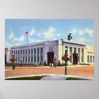 Allentown Pennsylvania Post Office Poster